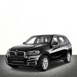 TAG BMW SUV Black Front Corner
