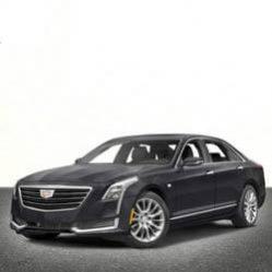 TAG Cadillac Sedan Gray Front Corner