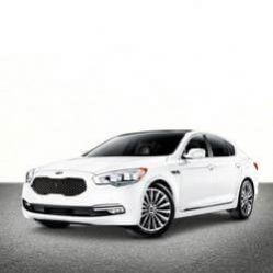 TAG Kia Sedan White Front Market