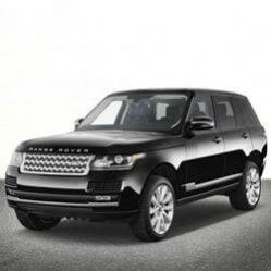 TAG Range Rover SUV Black Front Corner