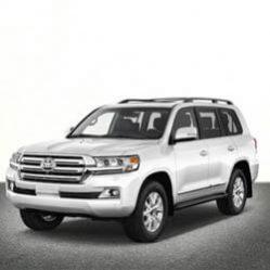 TAG Toyota SUV White Front Corner