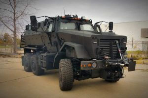 TAG Armored Truck Six Wheeler Outdoors