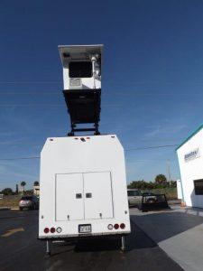 TAG Terrahawk Mobile Surveillance Tower Lift Supreme Lift 025 Rear View