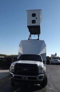 TAG Terrahawk Mobile Surveillance Tower Lift Supreme Lift 025 Front View