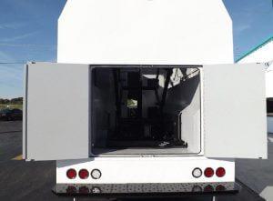 TAG Terrahawk Mobile Surveillance Tower Lift Supreme Lift 025 Rear