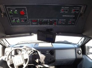 TAG Terrahawk Mobile Surveillance Tower Lift Supreme Lift 025 Dashboard