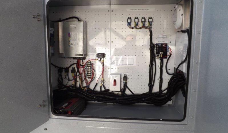 TAG Terrahawk Mobile Surveillance Tower Lift Supreme Lift 025 Mechanical Space