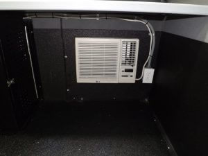 TAG Terrahawk Mobile Surveillance Tower Lift Supreme Lift 025 Air Conditioner