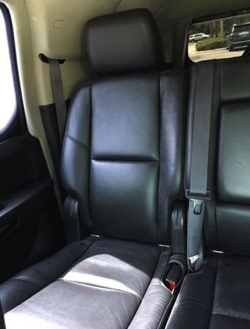 TAG Armored 2011 Cadillac Escalade ESV Platinum Back Seats
