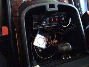 TAG Armored 2011 Cadillac Escalade ESV Platinum Center Console