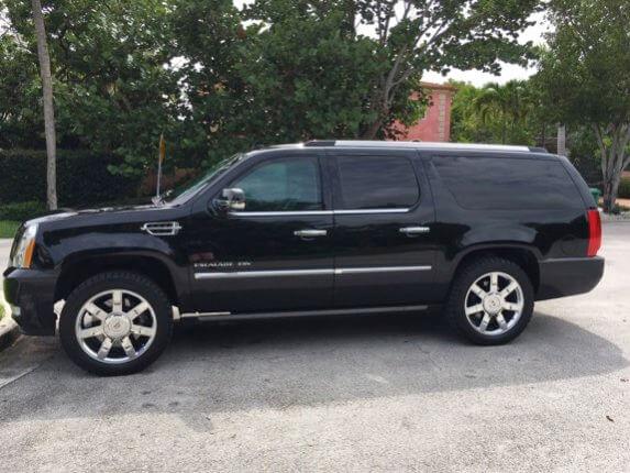 TAG Armored 2011 Cadillac Escalade ESV Platinum Side