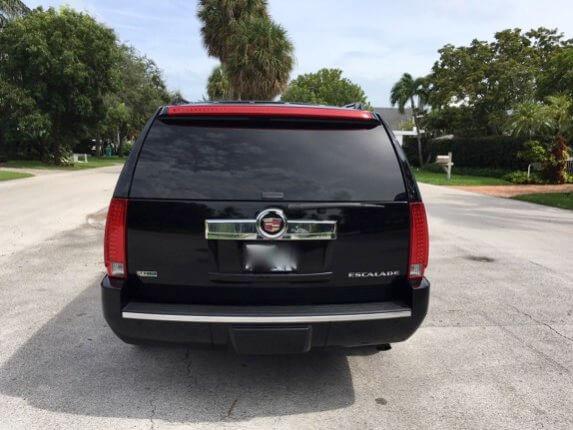 TAG Armored 2011 Cadillac Escalade ESV Platinum Back