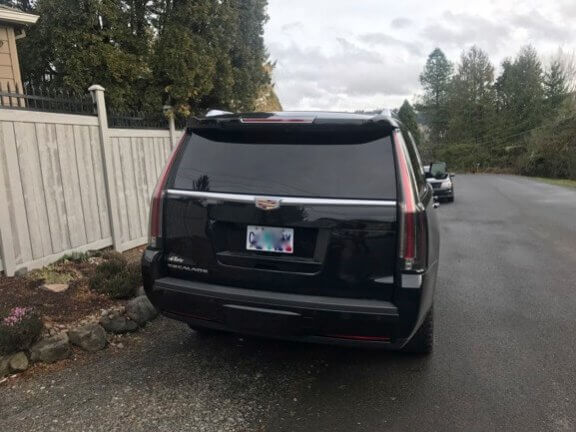 Used 2015 Cadillac Escalade TAG Back