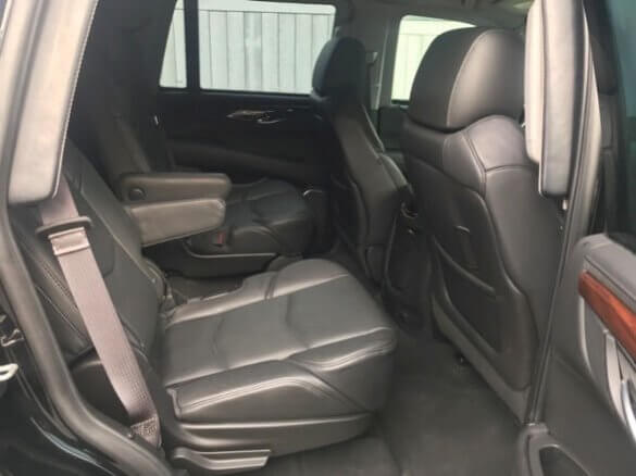 Used 2015 Cadillac Escalade TAG Back Seats