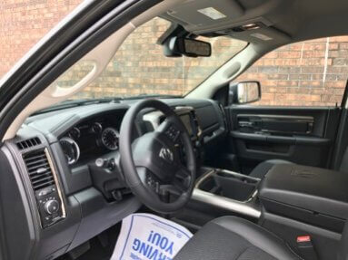 TAG 2017 Dodge Ram 1500 Front Interior