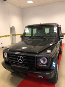 TAG 2010 Armored Mercedes-Benz G500 Front