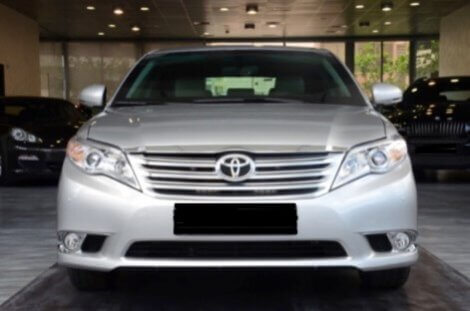 Armored Car 2012 Armored Toyota Avalon Front