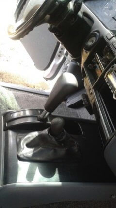 TAG 1991 Armored Toyota Land Cruiser Center Console