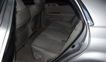 Armored Car 2012 Armored Toyota Avaion Back Seat