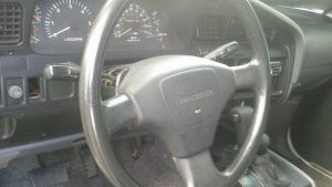 TAG 1991 Armored Toyota Land Cruiser Steering Wheel