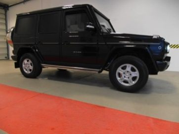 TAG 2012 Armored Mercedes-Benz G500 Side