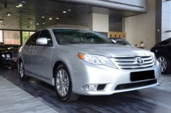Armored Car 2012 Armored Toyota Avalon Side Front