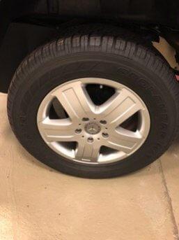 TAG 2010 Armored Mercedes-Benz G500 Tire Rims Wheels