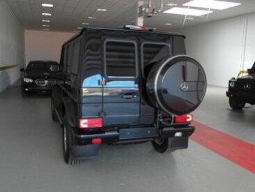 TAG 2012 Armored Mercedes-Benz G500 Rear Corner