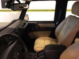 TAG 2010 Armored Mercedes-Benz G500 Dashboard