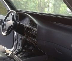 TAG 1991 Armored Toyota Land Cruiser Dashboard
