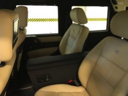 TAG 2010 Armored Mercedes-Benz G500 Back Seats