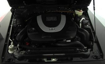 TAG 2012 Armored Mercedes-Benz G500 Engine