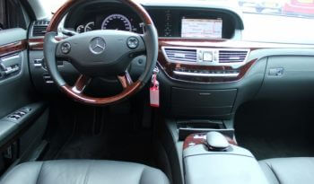 Armored Group 2009 Armored Mercedes-Benz S420 Cockpit