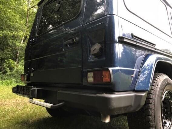 TAG 1984 Armored Mercedes-Benz G280 GE Rear