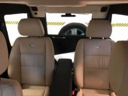 TAG 2010 Armored Mercedes-Benz G500 Back Seat