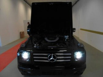 TAG 2012 Armored Mercedes-Benz G500 Hood Vent