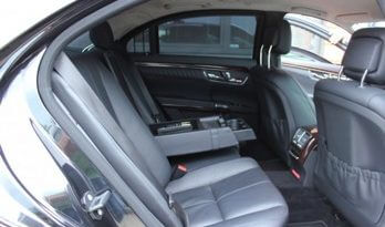 Armored Group 2009 Armored Mercedes-Benz S420 Back Seats