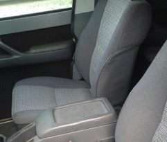 TAG 1991 Armored Toyota Land Cruiser Front Seats