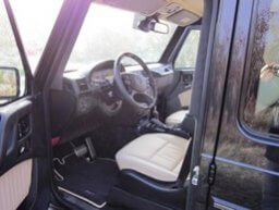 TAG 2010 Armored Mercedes-Benz G500 Driver Seat