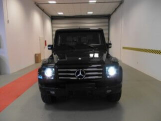 TAG 2012 Armored Mercedes-Benz G500 Front