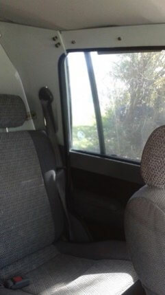 TAG 1991 Armored Toyota Land Cruiser Back Seat