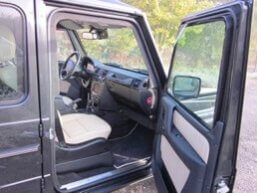 TAG 2010 Armored Mercedes-Benz G500 Passenger Seat