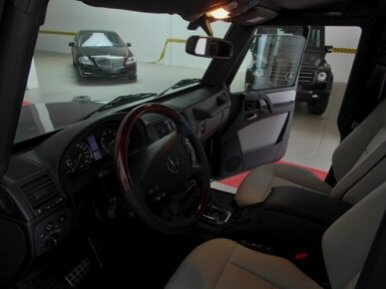 TAG 2012 Armored Mercedes-Benz G500 Front Seats