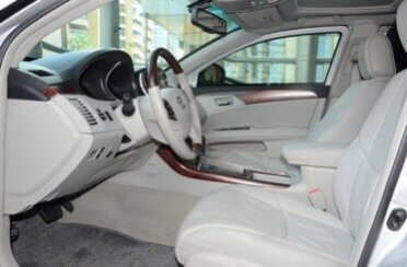 Armored Car 2012 Armored Toyota Avalon Side View Front Seats
