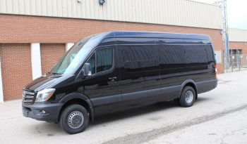 TAG Unarmored Mercedes Sprinter Luxury VIP Side