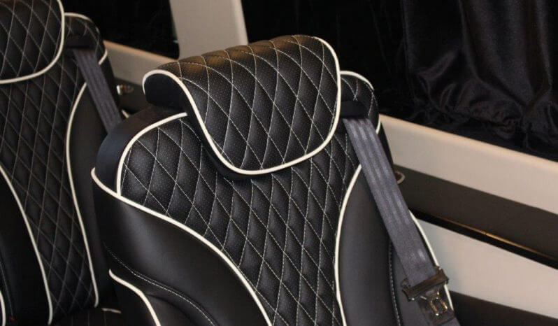 TAG Unarmored Mercedes Sprinter Luxury VIP Seat Headrest