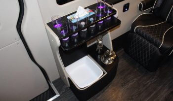 TAG Unarmored Mercedes Sprinter Luxury VIP Drink Cooler