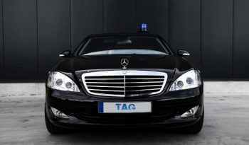 Armored Group 2009 Armored Mercedes-Benz S420 Front