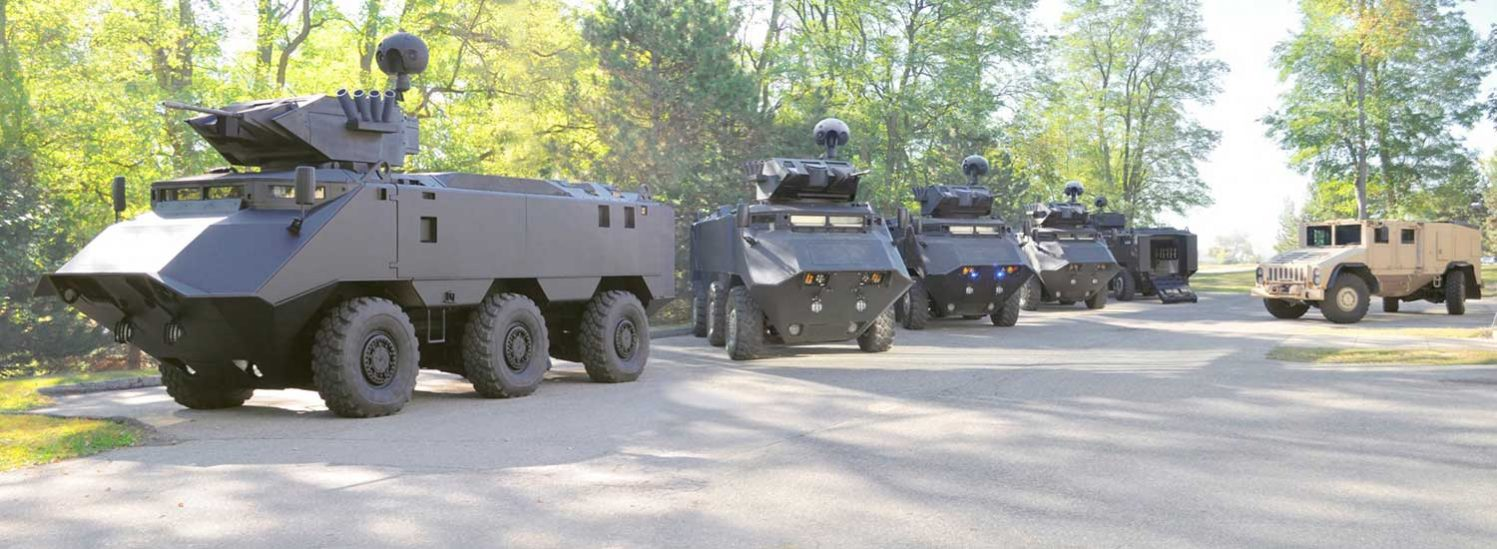 Armored Military Vehicles in Turkey