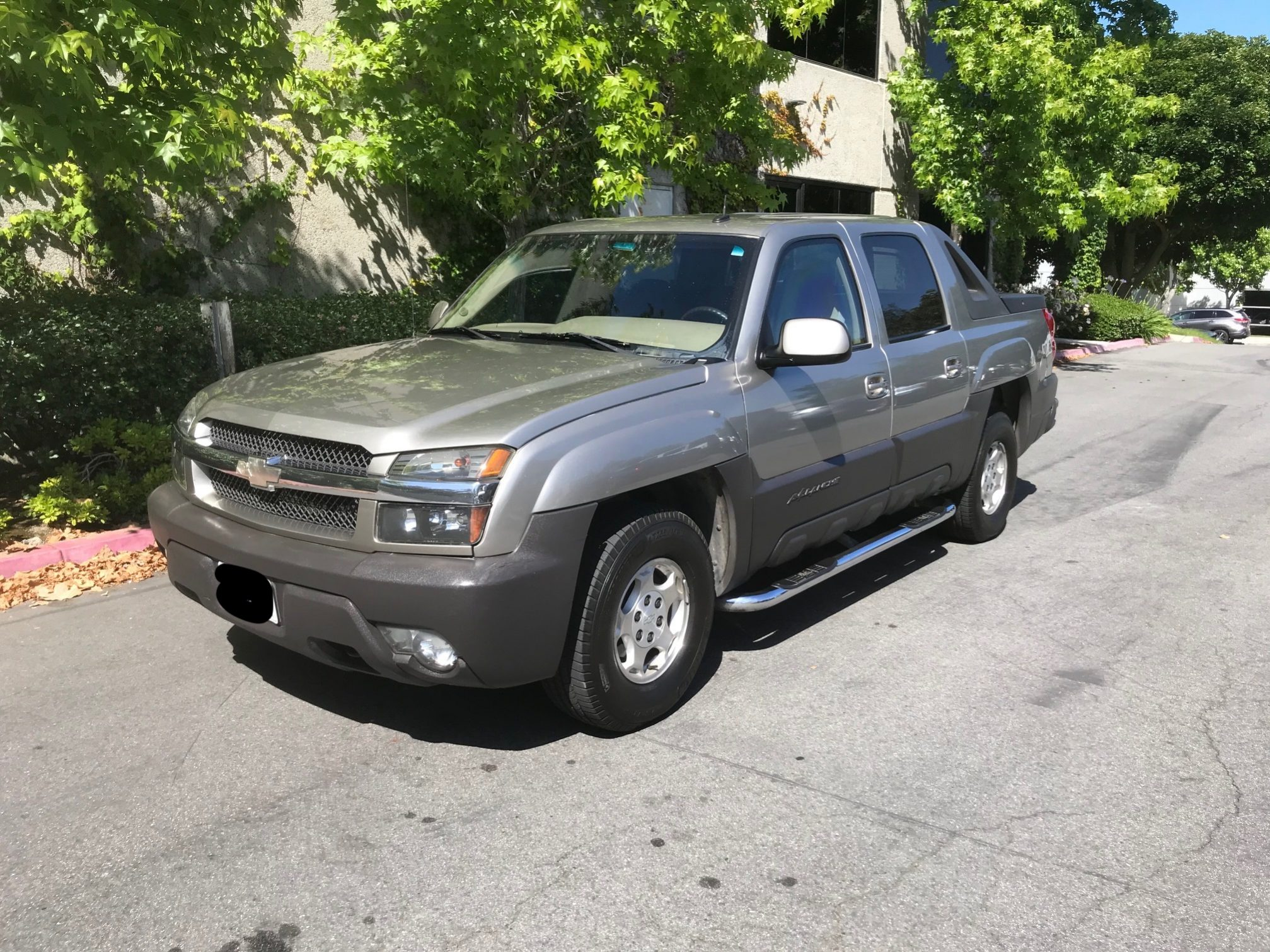 2003 Chevrolet Avalanche C1500 The Armored Group